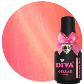 Diva Gellak Cat Eye Strawberry Nude 15 ml