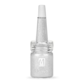Moyra Glitter No.18 in fles Silver