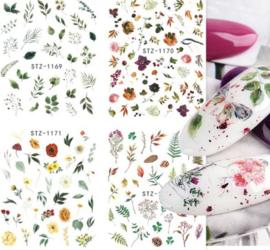 Waterdecals 006 Flowers