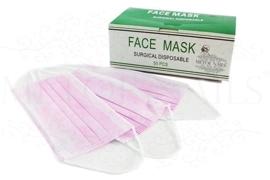Stofmasker Roze 50 stuks