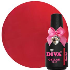 Diva Gellak Glass Red 15 ml