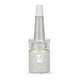 Moyra Glitter in een flesje no 6 Silver