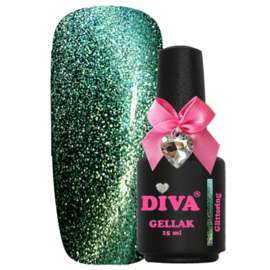 Diva Gellak Cat Eye Glittering 15 ml