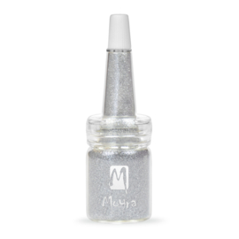 Moyra Glitter in een flesje no 13 Light Silver