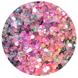 Shiny Star Sugar Hologram Fuchsia