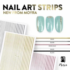 Moyra Nail Art Strips 01. Gold