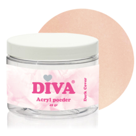 Diva Acryl Poeder Dark Cover 45 gram
