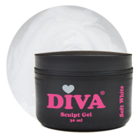 DIVA Sculpt Gel Soft White 30 ml