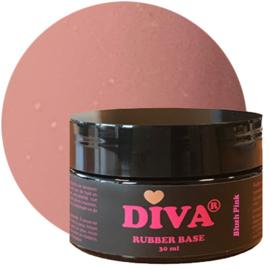 Diva Gellak Rubber Basecoat Blush Pink POT 30 ml