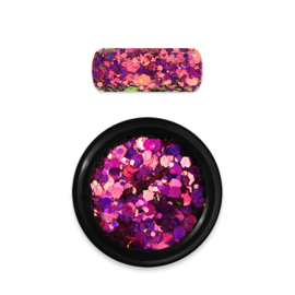 Moyra Holo Gitter Mix no. 13 Pink