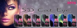 Diva Gel Lak 5D Cat Eye complete collectie 7 flesjes