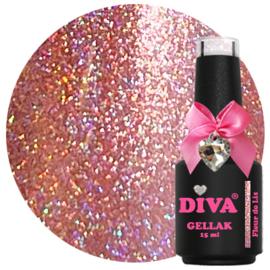Diva Gellak Holo Fleur de Lis 15 ml