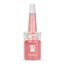 Moyra Glitter in een flesje no 11 Pink