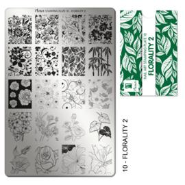 Moyra Stamping Plaat 10 Florality 2