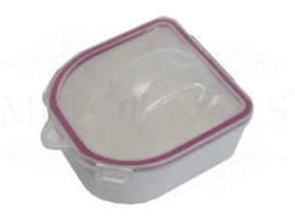 Dubbelwandige en aceton bestendige manicure bowl