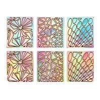 Sticker Guide serie van 6 vellen met 18 verschillende designs!