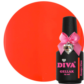 Diva Gellak Orange Gloss 15 ml