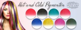 Hot and Cold Pigmenten Set van 8 stuks