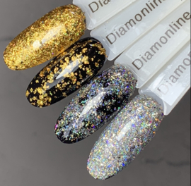 DEAL Hologram Golden&Silver Flakes