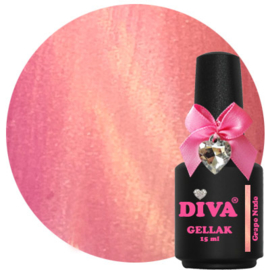 Diva Gellak Cat Eye Grape Nude 15 ml