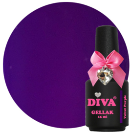 Diva Gellak Velvet Purple 15 ml