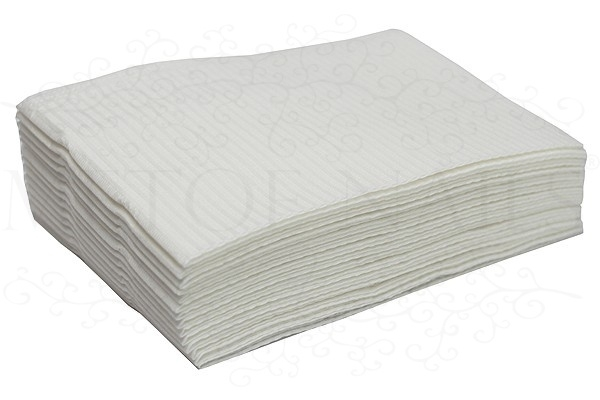 Table towels wit 125 stuks