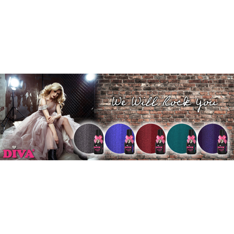 Diva Gellak We Will Rock You Collection