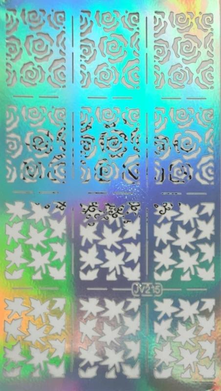 Sticker Guide Flower Leaves 6