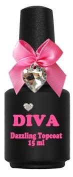 Diva Dazzling Topcoat zonder plaklaag 15 ml