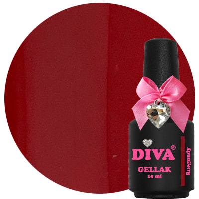 Diva Gellak Burgundy 15 ml