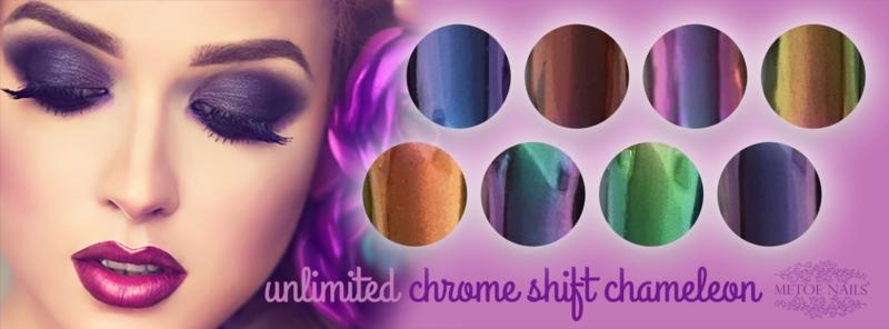 Unlimited Chrome Shift Chameleon 6 kleuren set