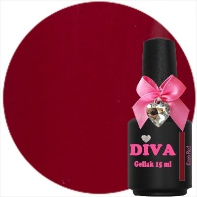 Diva Gellak Coco Red 15 ml