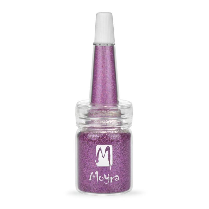 Moyra Glitter in een flesje no 9 Purple