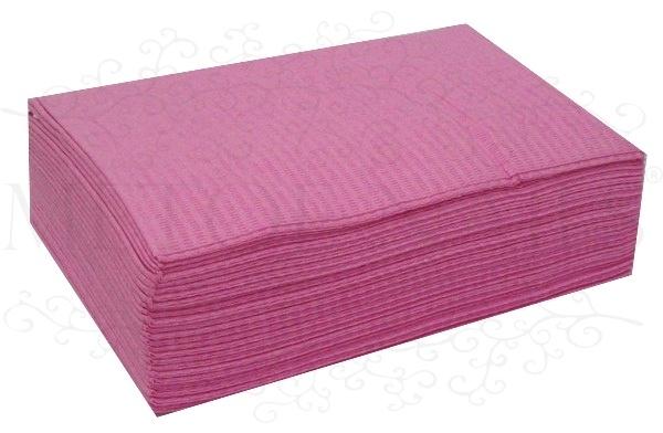 Table towels pink 50 stuks