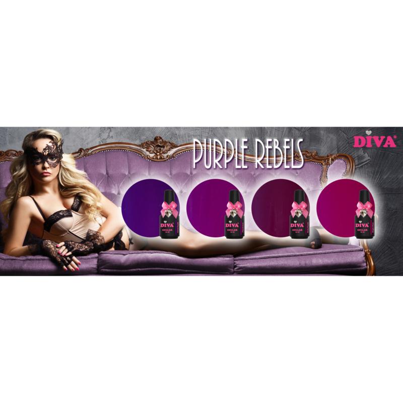 Diva Gellak Purple Rebels Collection