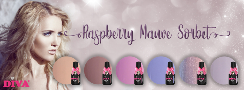 Diva Gellak Raspberry Mauve Sorbet Collection