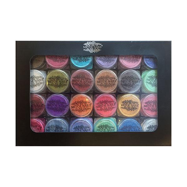 24 Pigmenten in een Luxe Bewaardoos