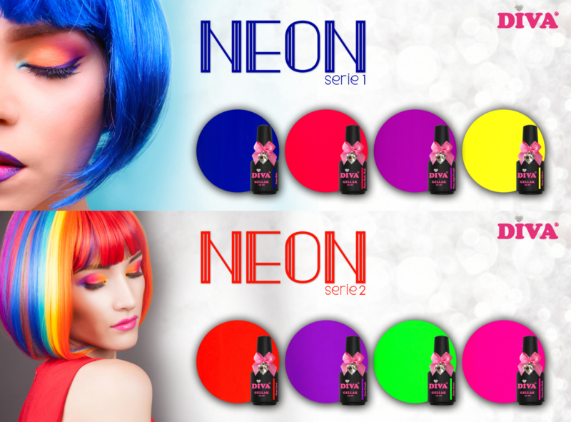 Diva Gellak Neon Serie 1+2