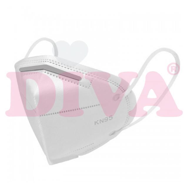 Mondmasker KN95 FFP2  5 laags verpakt per 5 stuks