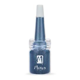 Moyra Glitter in een flesje no 5 Blue
