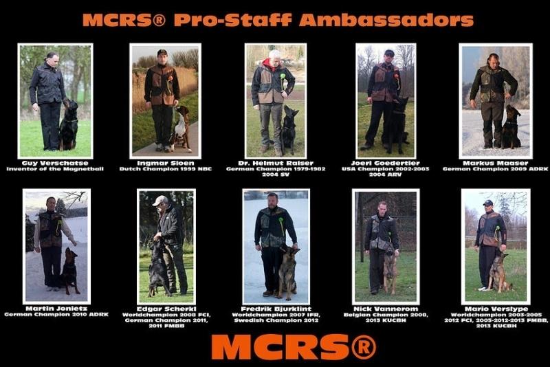 MCRS® Pro Staff