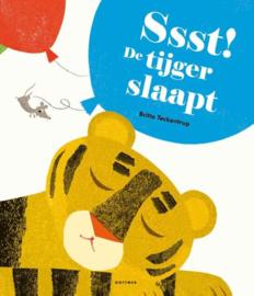 Britta Teckentrup ; Ssst! De tijger slaapt