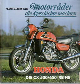 Motorräder die Geschichte machten - Honda CX 500/650