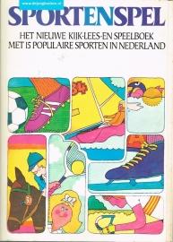 Sportenspel ; Het nieuwe kijk-lees-speelboek met 15 populaire sporten in Nederland.