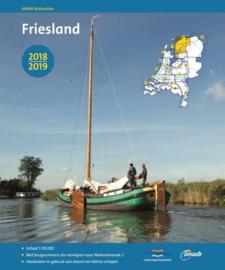 ANWB Wateratlas Friesland 2018/2019