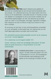 Sverker Johansson ; De oorsprong van Taal