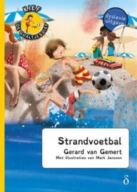 Gerard van Gemert ; Kief, de goaltjesdief 14 - Strandvoetbal - dyslexie uitgave