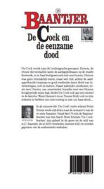 Peter Römer ; Baantjer 89 - De Cock en de eenzame dood (deel 89)