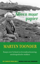 Marten Toonder ; Alleen maar papier