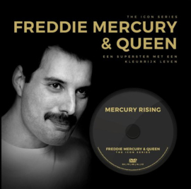 The Icon Series - Freddie Mercury & Queen (boek+dvd)